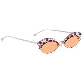 Fendi FF0370SL7QW758 Defender Ladies  Sunglasses