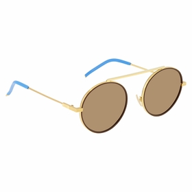 Fendi FFM0025S01Q7054 Everyday Fendi Mens  Sunglasses