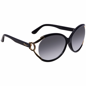 Salvatore Ferragamo SF600S 001 61 SF600S Ladies  Sunglasses