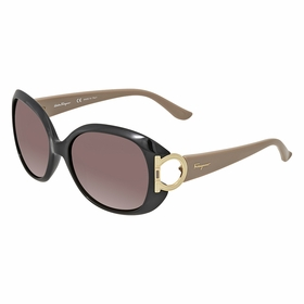 Salvatore Ferragamo SF668 001 57  Ladies  Sunglasses