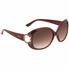 Salvatore Ferragamo SF668 224 57 SF668 Ladies  Sunglasses