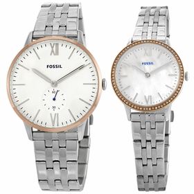 Fossil FS5562SET Andy and Addison His and Her Set  Quartz Watch