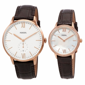 Fossil FS5564SET Andy and Addison His and Her Set  Quartz Watch