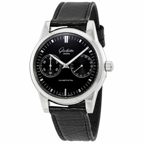 Glashutte 39-58-01-02-04 Senator Hand Date Mens Automatic Watch