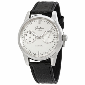 Glashutte 39-58-02-02-04 Senator Hand Date Mens Automatic Watch