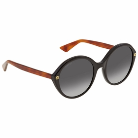 Gucci GG 0023S 003 55 GG0023 Ladies  Sunglasses