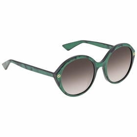 Gucci GG 0023S 006 55 GG0023 Ladies  Sunglasses