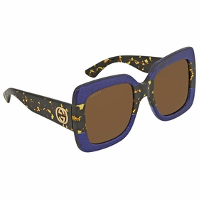 Gucci GG 0083S 003 55  Ladies  Sunglasses