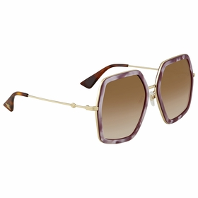 Gucci GG 0106S 004 56  Ladies  Sunglasses