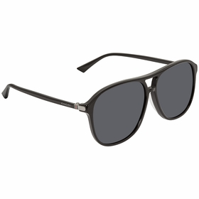 Gucci GG0016SA 001 59 GG0016SA Mens  Sunglasses
