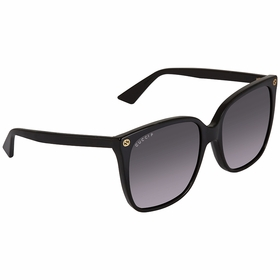 Gucci GG0022S 007 57 GG0022 Ladies  Sunglasses
