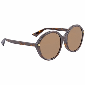 Gucci GG0023SA 002 57  Ladies  Sunglasses