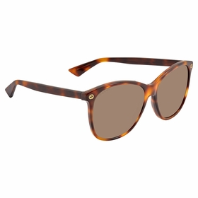 Gucci GG0024S 002 58 GG0024 Ladies  Sunglasses