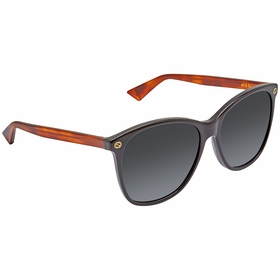 Gucci GG0024S 003 58 GG0024 Ladies  Sunglasses