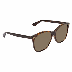Gucci GG0024S 008 58 GG0024 Ladies  Sunglasses