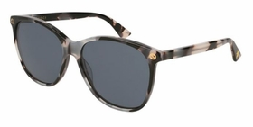 Gucci GG0024S 009 58  Ladies  Sunglasses