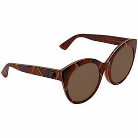 Gucci GG0028SA 008 54 GG0028SA Ladies  Sunglasses