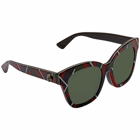 Gucci GG0029SA 009 52 GG0029SA Ladies  Sunglasses