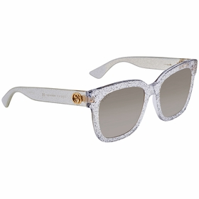 Gucci GG0034S 005 54 GG0034 Ladies  Sunglasses