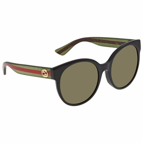 Gucci GG0035SA 002 56 Urban Ladies  Sunglasses