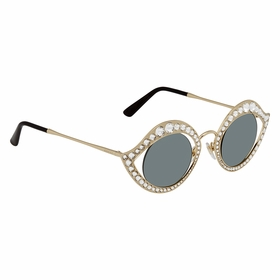 Gucci GG0046S 001 41 GG0046 Ladies  Sunglasses