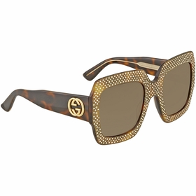 Gucci GG0048S-002 54 Fashion Inspired Ladies  Sunglasses
