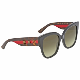 Gucci GG0059S 001 55  Ladies  Sunglasses