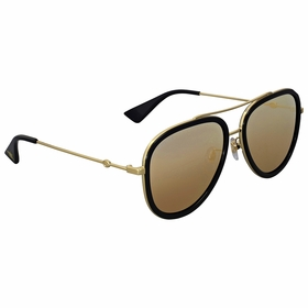 Gucci GG0062S 001 57  Ladies  Sunglasses