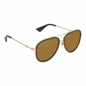 Gucci GG0062S 010 57  Ladies  Sunglasses