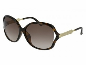 Gucci GG0076SK 001 62  Ladies  Sunglasses