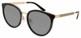 Gucci GG0077SK 006 56  Ladies  Sunglasses