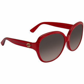 Gucci GG0080SK 004 61  Ladies  Sunglasses