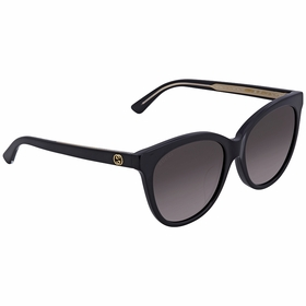 Gucci GG0081SK 001 56  Ladies  Sunglasses