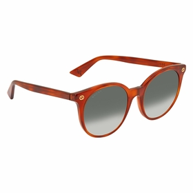 Gucci GG0091S 002 52 GG0091 Ladies  Sunglasses