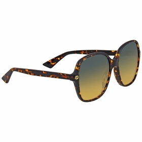 Gucci GG0092S 003 55  Ladies  Sunglasses