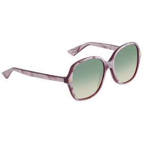 Gucci GG0092S 004 55 GG0092 Ladies  Sunglasses