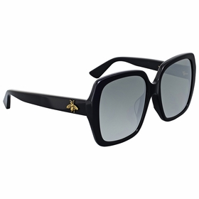 Gucci GG0096SA 001 55  Ladies  Sunglasses