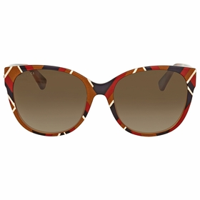 Gucci GG0097S 004 56 GG0097 Ladies  Sunglasses