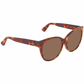 Gucci GG0097SA 002 58 GG0097SA Ladies  Sunglasses