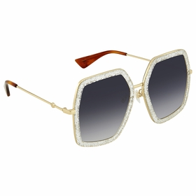 Gucci GG0106S 006 56  Ladies  Sunglasses