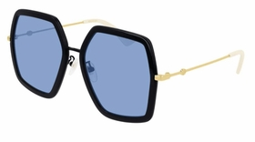 Gucci GG0106S01156  Ladies  Sunglasses