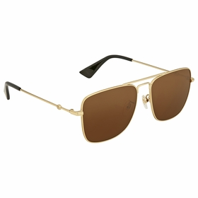 Gucci GG0108S 001 55 GG0108 Ladies  Sunglasses