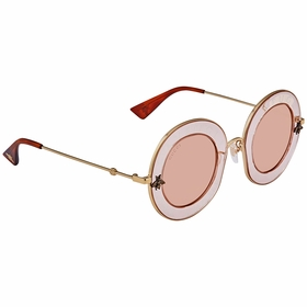 Gucci GG0113S 004 44 GG0113 Ladies  Sunglasses