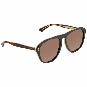 Gucci GG0128S 004 56  Mens  Sunglasses