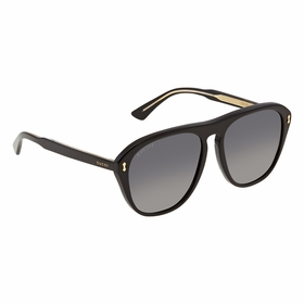 Gucci GG0128S 007 56 GG0128 Mens  Sunglasses
