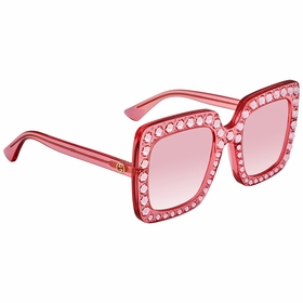 Gucci GG0148S 003 53 GG0148 Ladies  Sunglasses