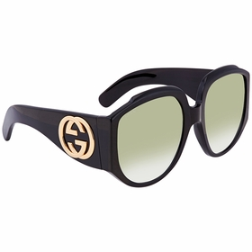 Gucci GG0151S 001 61 GG0151 Ladies  Sunglasses