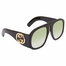 Gucci GG0152S 002 57 GG0152 Ladies  Sunglasses