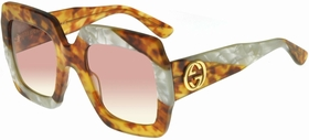 Gucci GG0178S-008 54  Ladies  Sunglasses