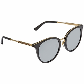 Gucci GG0204SK-001 56 GG0204SK Ladies  Sunglasses